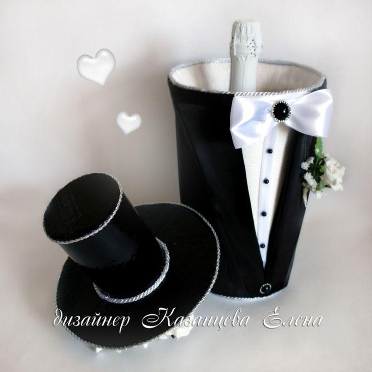 Gallery.ru / Фото #1 - свадебные бутылки - kazantceva