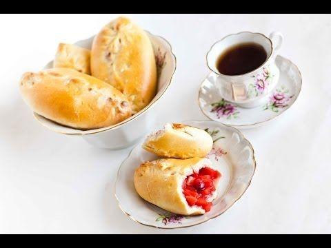 ▶ Apple-Cranberry Piroshky (Яблочные Пирожки) - Russian Fall Comfort Food - YouTube