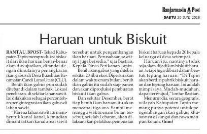 #ClippedOnIssuu from Banjarmasin Post Sabtu, 20 Juni 2015