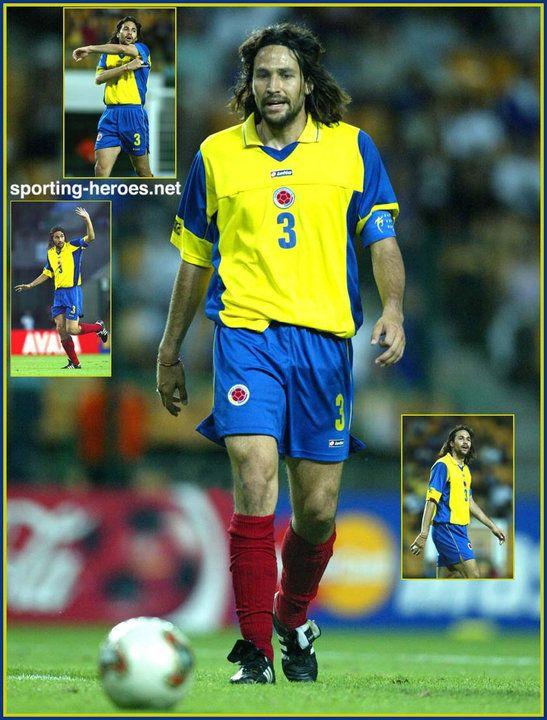 Mario Yepes - Colombia - FIFA Copa Confederaciones 2003