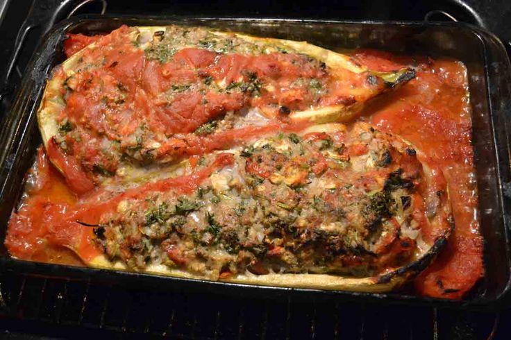 Stuffed Lebanese Zucchini