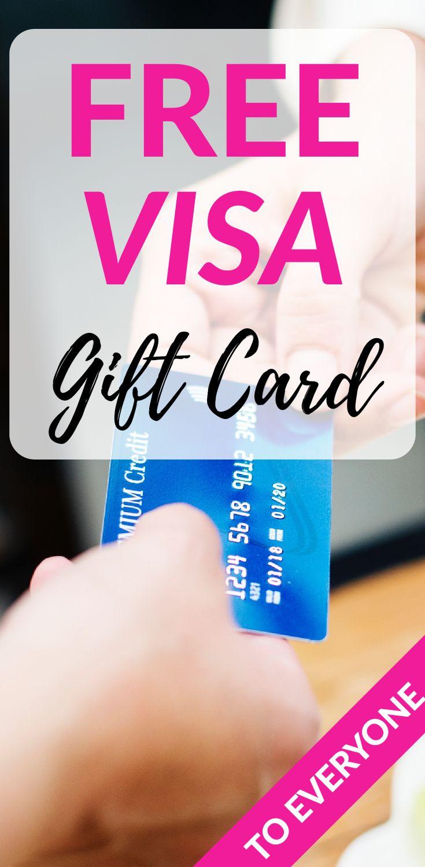 Everyone gets a free visa card so easy free visa card