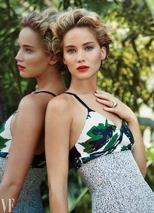 Jennifer Lawrence, Vanity Fair November 2014 Issue. Photographed by Patrick Demarchelier