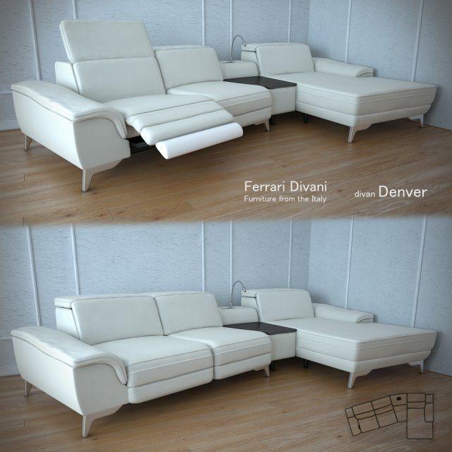 Ferrari Divani Denver factory 3D Model .max .c4d .obj .3ds .fbx .lwo .stl @3DExport.com by viiik33
