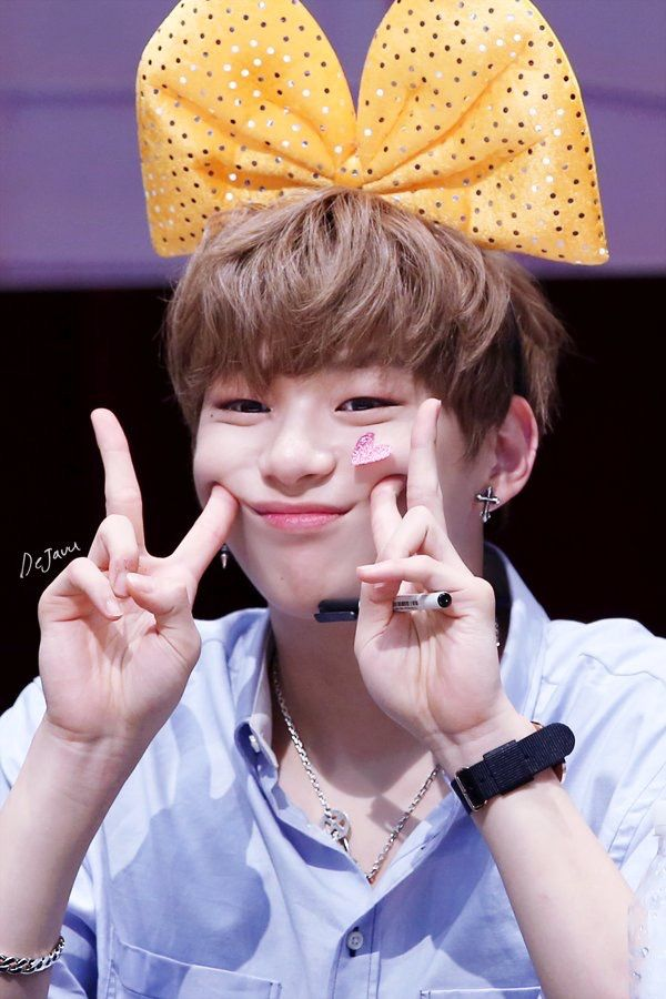 Kang Daniel Fansign Wanna One