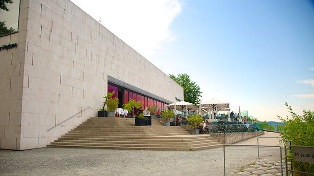 The Museum Der Moderne Moenchsberg in Salzburg, houses the best in #AustrianArt international #abstract and #contemporary art and #ModernArt #MönchsbergArtMuseum (Museum der Moderne Mönchsberg).