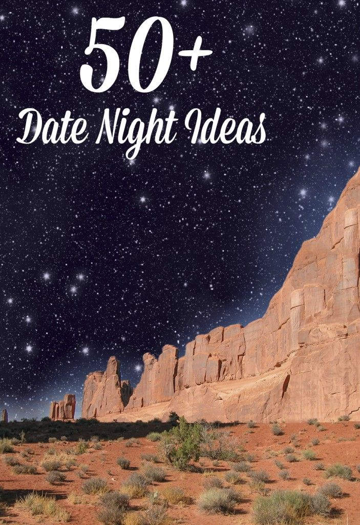Looking for creative date ideas? Check out this list of over 50 date night ideas!