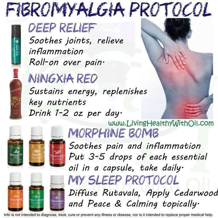 Essential oils for fibromyalgia! Young Living Essential Oils www.youngliving.com  sponsor ID #2216135: