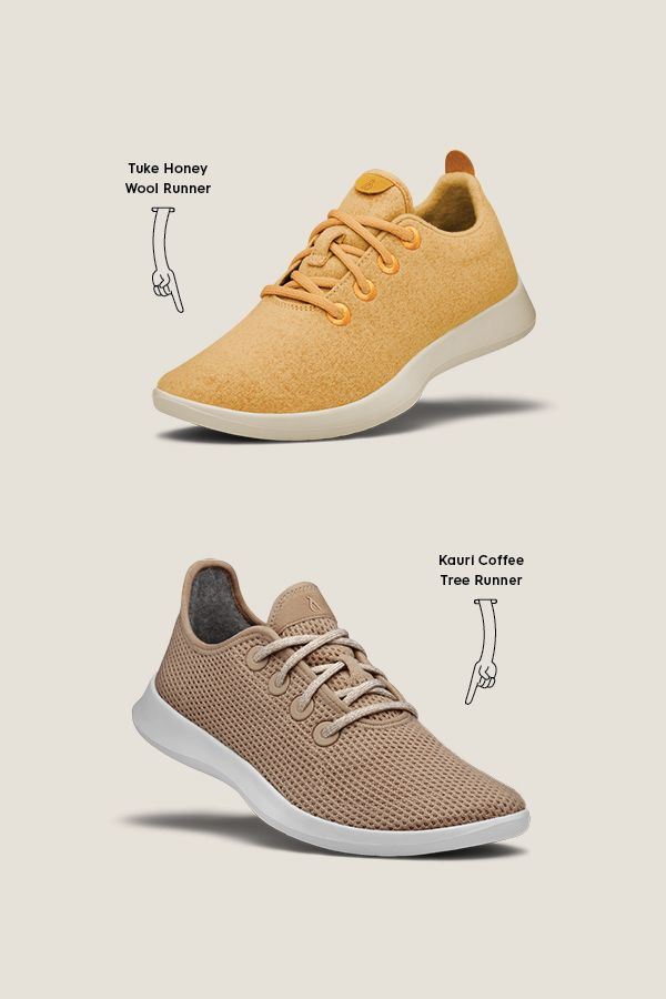 9eda1e0e39d Here's the difference in color and style between our limited edition Tuke  Honey Wool Runners and Kauri Coffee Tree Runners.