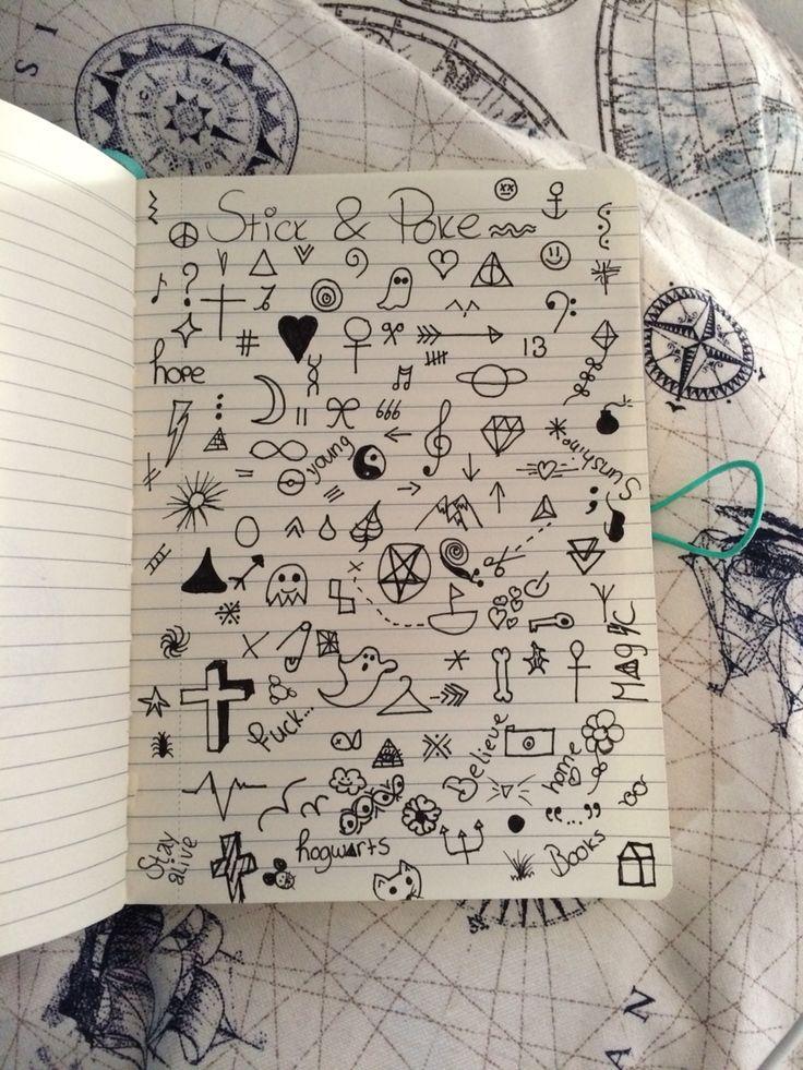 Stick and poke ideas