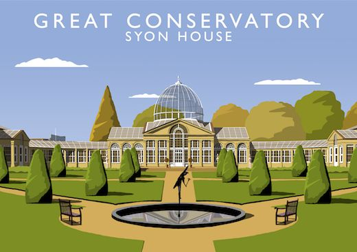 Great Conservatory, Syon House Art Print