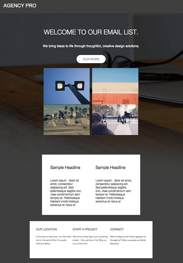 116 best images about Emails We – Sample Html Email
