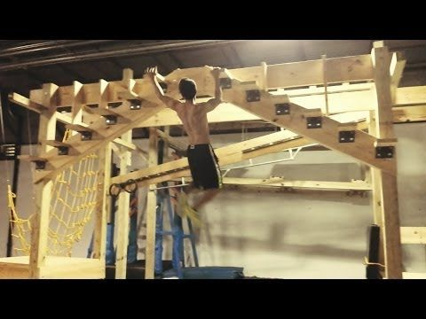 American Ninja Warrior Training Session @ Crossfit Lilburn 678 (June 2014) - YouTube