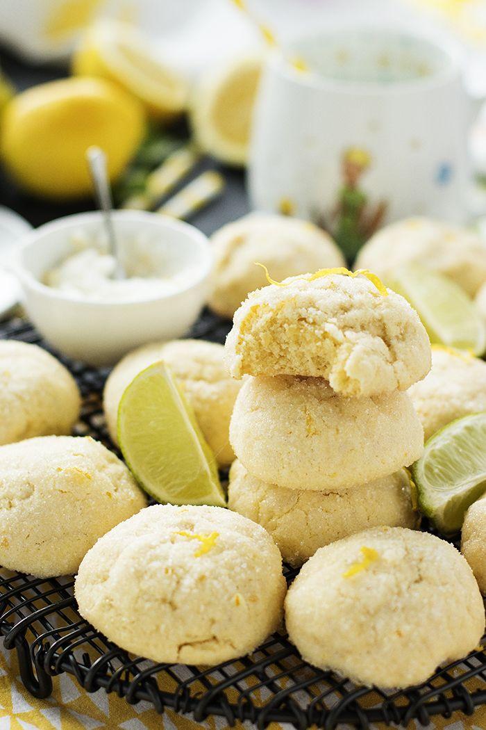 Adeta ruha tazelik katan kurabiyeler hayal edin.. Bol taze limon aromalı, ağızda dağılan, dışı kıtır içi yumuşacık.. Tattıkça damağa yapış...