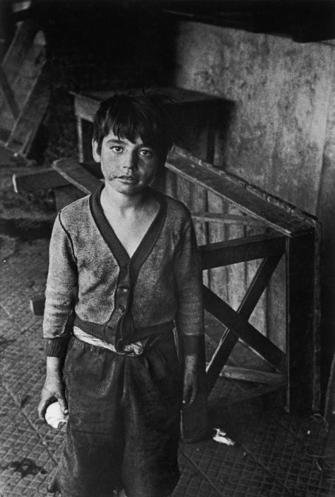 Sergio LarrainChile, Vagabond Child, 1957