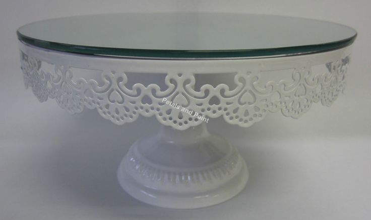 25cm New French Provincial Cake Plate Stand To Display Birthday & Wedding Cakes in Home, Furniture & DIY, Cookware, Dining & Bar, Tableware, Serving & Linen | eBay