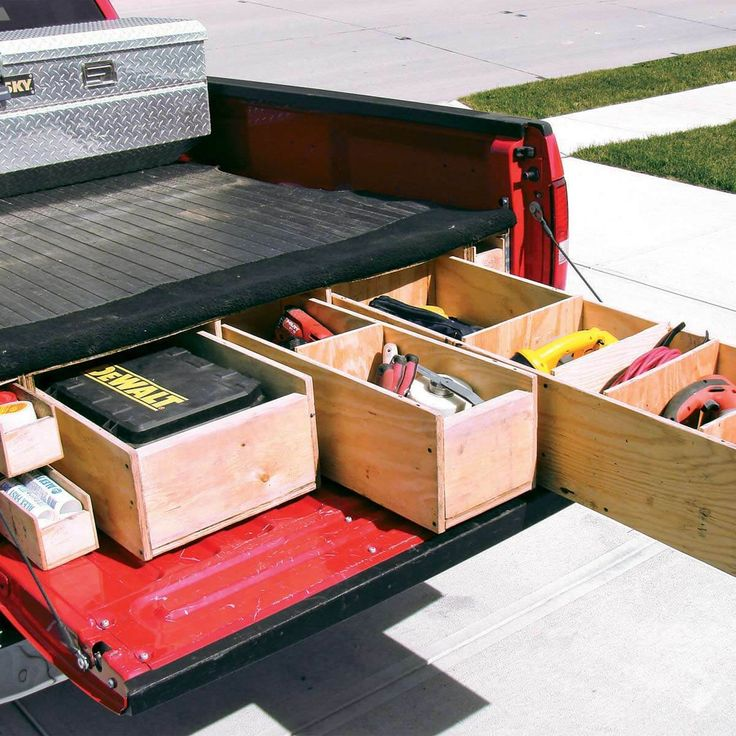 Reader Project Onboard Tool Drawers Custom truck beds