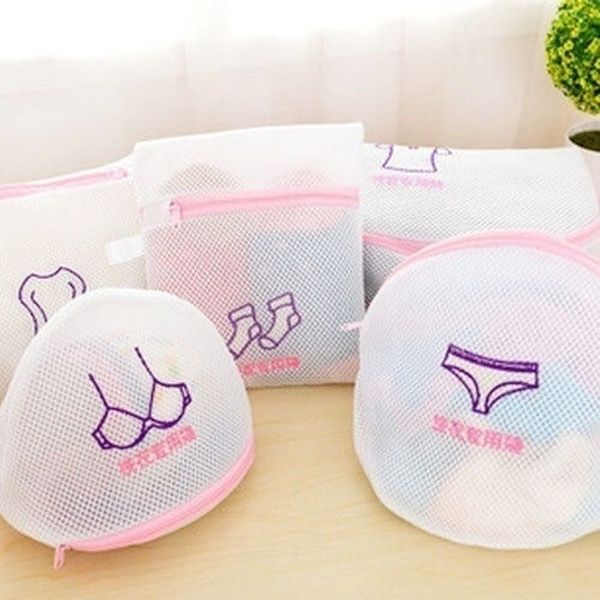 Reusable Laundry Mesh Clothes Washing Bags Underware Washing Bags