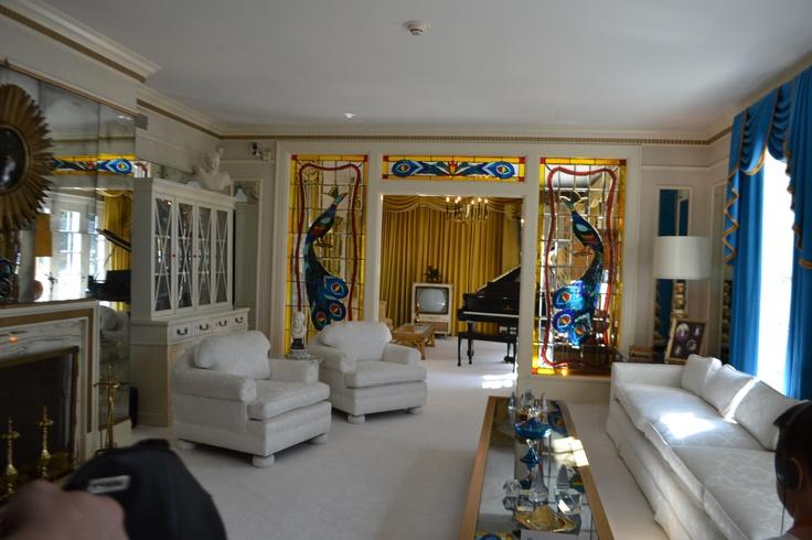 Elvis' Graceland - Front Room