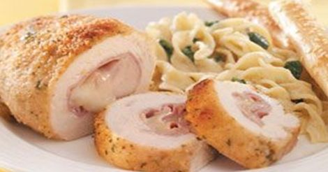 Stuffed Chicken Rollups -- A crowd pleaser for sure