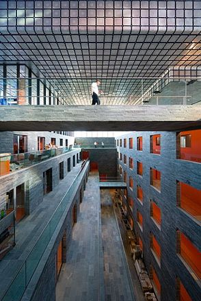 Institute for Sound and Vision, Hilversum, The Netherlands by Neutelings Reidijk