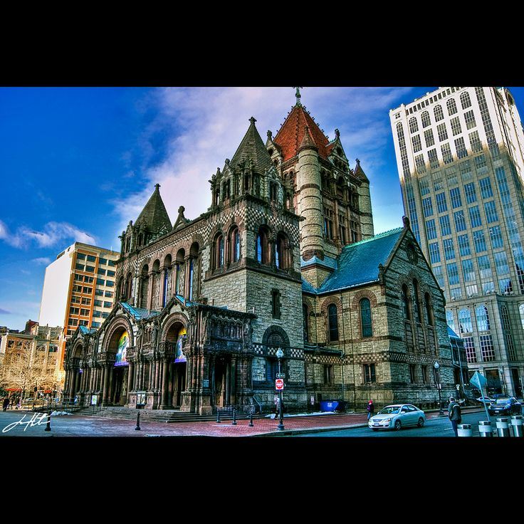 Trinity Church; Boston, Massachusetts
