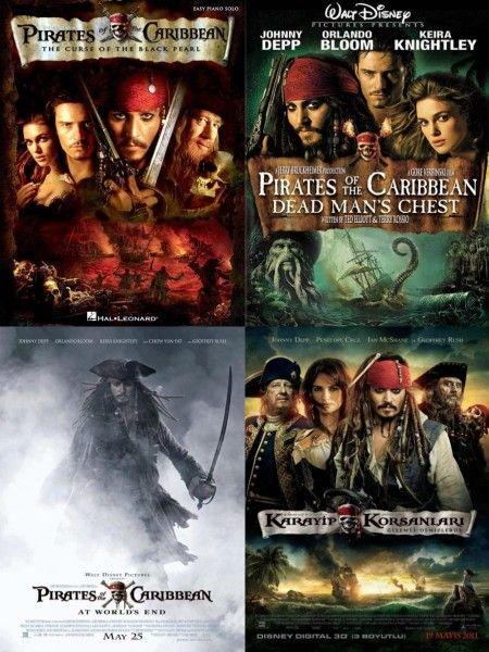 Karayip korsanları Boxset Türkçe Dublaj Full HD izle