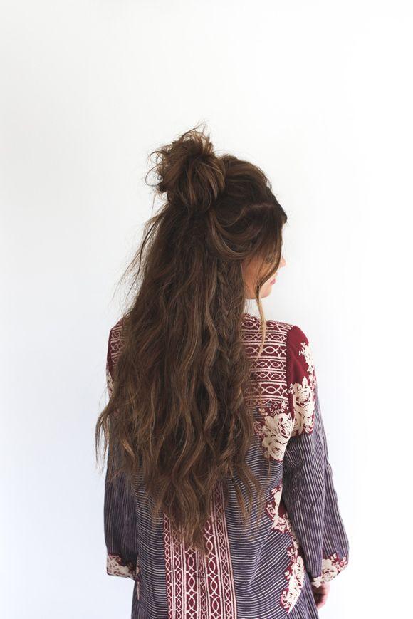 Half up #hair | @invokethespirit