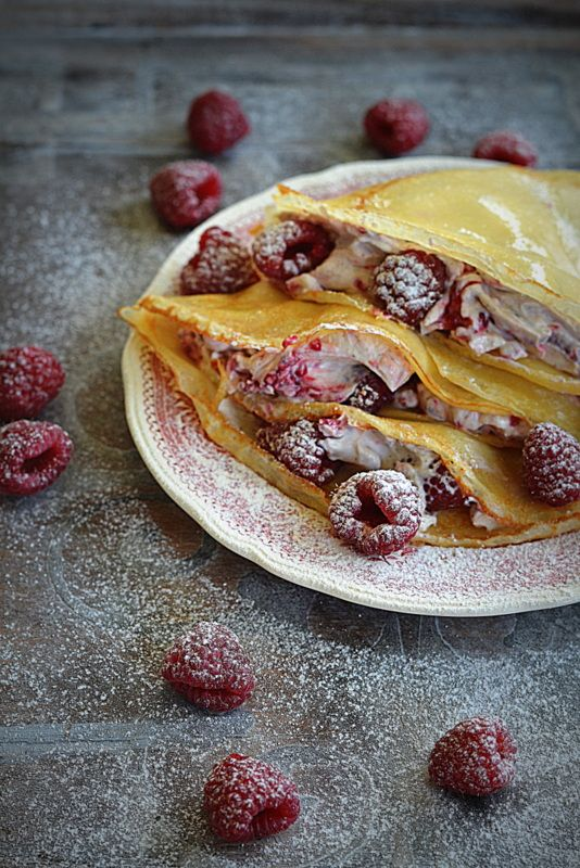 Naleśniki francuskie, mascarpone i maliny! Śniadanie nie do łóżka…dla Niej i dla…