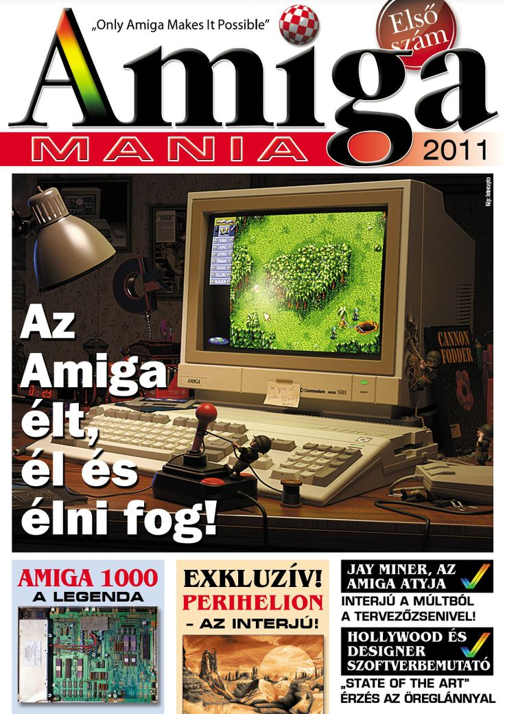 Amiga Mania Magazin 001