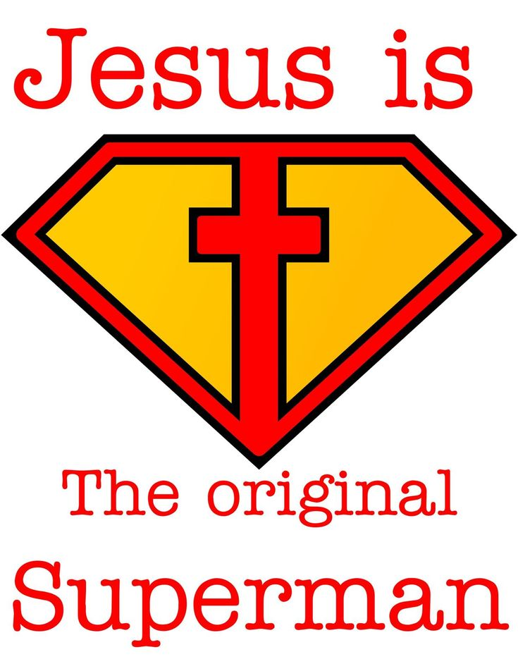 Jesus is the Original Superman
