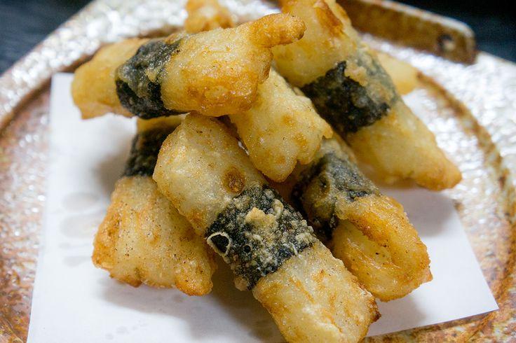 yamaimo_fry, 天妇罗山药海苔, 天ぷら 山芋