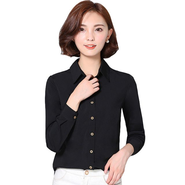 Special price Long Sleeve Women Shirts New 2016 Autumn Solid Office Shirt Blouse Ladies Business Work Wear Korea Fashion Clothing Female Tops just only $10.66 with free shipping worldwide  #womanblousesshirts Plese click on picture to see our special price for you