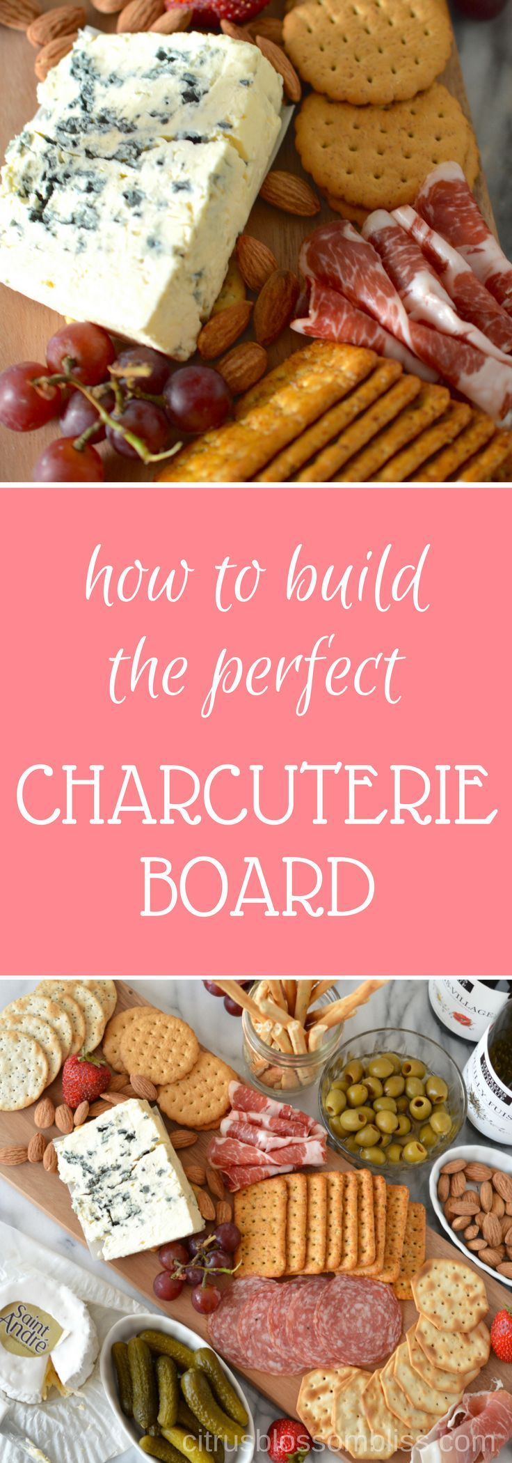 Love entertaining? The Perfect Charcuterie Board is easy to whip together and will be the hit of your next gathering!  #MadeInFrance #MadeWithLove #ad