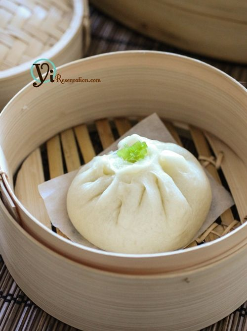 Chinese Steamed Meat Buns (baozi) 包子 These are so delicious here ...