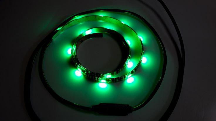 Amazon.com: 商品レビュー専門's review of Satechi 色が変わるUSB帯状LED照明 RGB ネオン アクセント照明キッ...