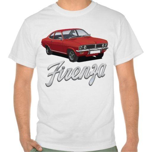 Vauxhall Firenza red with text  #vauxhall #firenza #vauxhallfirenza #automobile #tshirt #tshirts #70s #classic