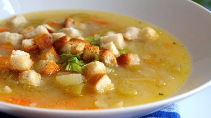 Polévka z řapíkatého celeru s krupicovou jíškou | Vaření s Tomem