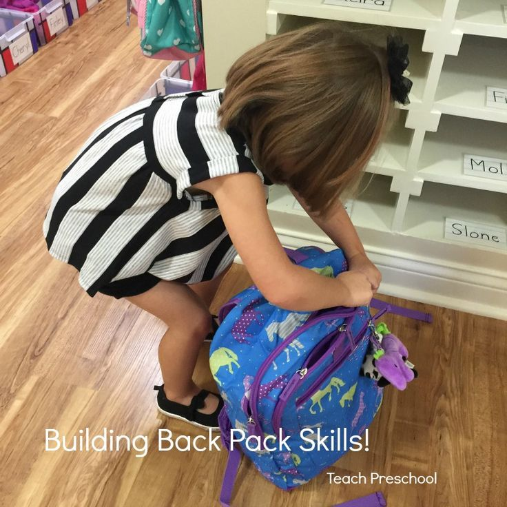 Building Back Pack Skills