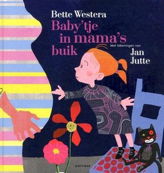 Zilveren Griffel 2017 - Informatief. Baby'tje in mama's buik / Bette Westera & Jan Jutte. Jip (ik-figuur, meisje) hoopt dat het baby'tje in mama's buik een jongetje is. Maar hoe is dat baby'tje daar gekomen? Voorleesverhaal waarin allerlei vragen over de conceptie, zwangerschap en geboorte worden beantwoord. Met expressieve kleurenillustraties. Vanaf ca. 4 t/m 6 jaar.