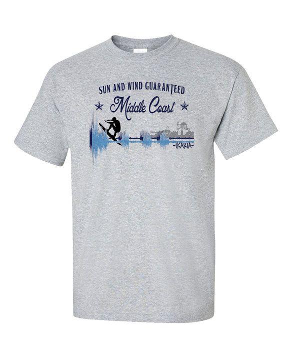 Ikaria T-Shirt Ikaros Middle Coast Mesakti Beach by 969Tshirts