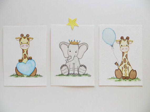 25 beste idee n over ballon schilderij op pinterest - Babykamer schilderij idee ...