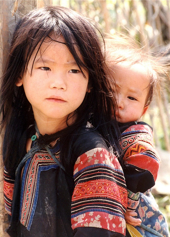 Niños de Vietnam.