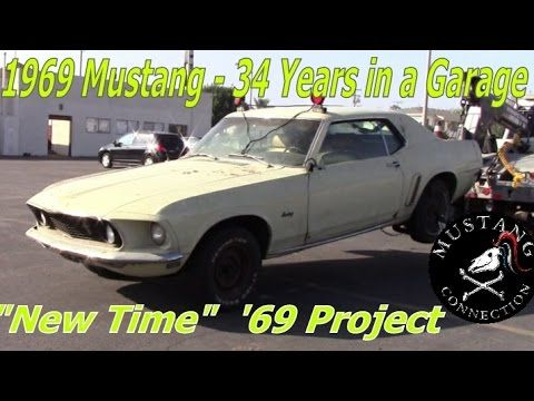 34 Years In Storage 1969 Ford Mustang Garage Find Part 1 Connec Mustangs Needing Tlc Pinterest And Restoration