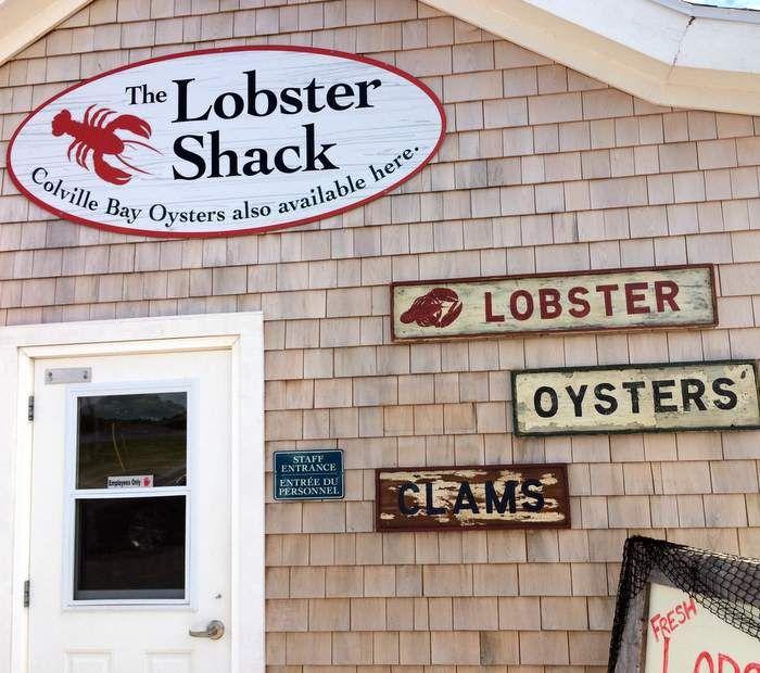 The Lobster Shack, Souris, Prince Edward Island