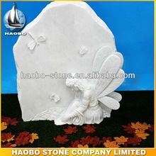 White Winged Angel Fairy Headstones For Sale