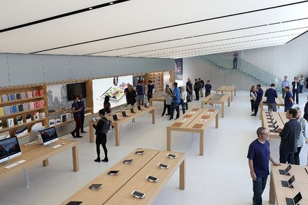 Apple Sales Continue to Drop but Services Are a Bright Spot