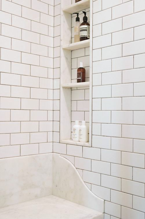 38 Best Images About Shower Niche Bench Seating On
