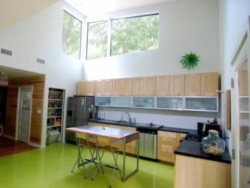 marmoleum in Casey Kitchen