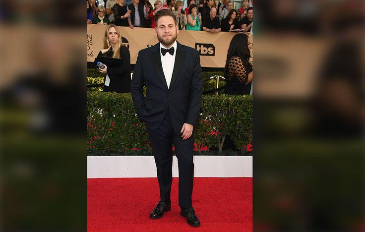 Jonah Hill Shows Off Weight Loss at SAG Awards https://cstu.io/09bd38